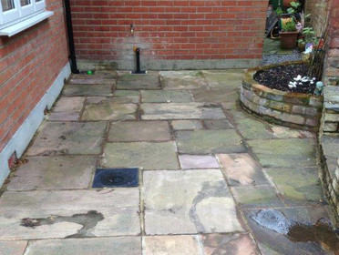 Patio, Natural Stone and Decking cleaning image
